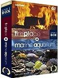 Fireplace/Marine Aquarium