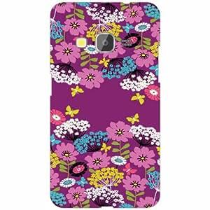 Samsung galaxy J2-2016 Back Cover - Flowers Designer Cases