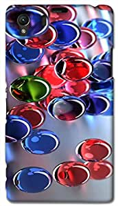 Timpax protective Armor Hard Bumper Back Case Cover. Multicolor printed on 3 Dimensional case with latest & finest graphic design art. Compatible with Sony L39H - Sony 39 Design No : TDZ-25902