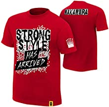 WWE NXT - Shinsuke Nakamura - The King Of Strong Style Has Arrived AUTHENTIC T-SHIRT