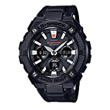 CASIO G-SHOCK G-STEEL GSTS130BC-1A BLACK (Color: BLACK, Tamaño: LARGE)