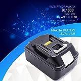 LENOGE® 18V 3.0Ah Rechargeable Battery Pack For Makita BL1830 BCL182Z BCS550 BCS550F BCS550RFE Li-ion