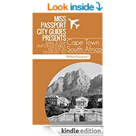 Cape Town South Africa Travel Guide: 3 Day Unforgettable Vacation Itinerary to Cape Town South Africa: Cape Town South Africa 3-Day Highlights Itin Travel ... Itinerary to Cape Town South Afri Book 1)