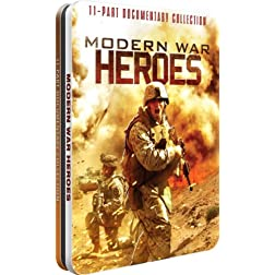 Modern War Heroes - Collectable Tin