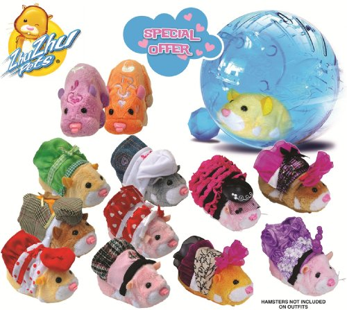Zhu Zhu Pets Bundle Pack