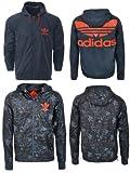 Adidas Originals Camouflage Reversible Wind Breaker Hooded Track Jacket Top