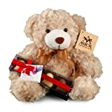 Valentines Day Plush Bear With Chocolate Truffle Box