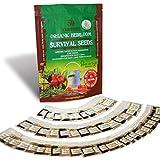 Grow For It! 100% Organic Heirloom Vegetable Garden...