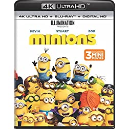 Minions [4K Ultra HD + Blu-ray]
