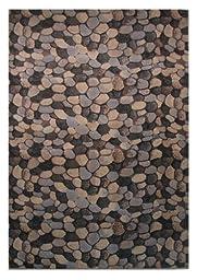 LA Rug Palazzo Israel Multi-Color Area Rug 4125-90 7 Foot 3 Inch by 10 Foot