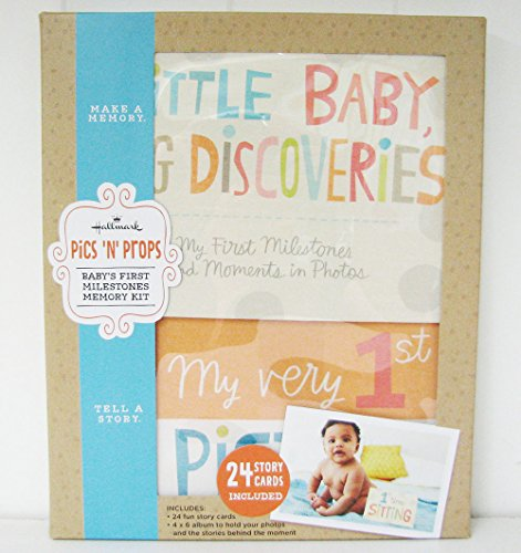 Hallmark Bba7041 Pics 'N' Props - Baby'S First Milestones Memory Kit front-1067909