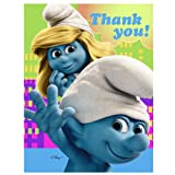 Hallmark Smurfs ThankYou Notes