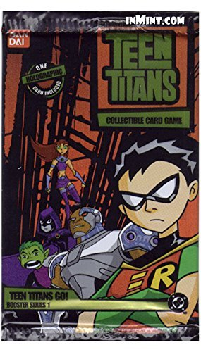 Teen Titans collectible card game series 1 booster