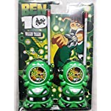 Ben10 -Wireless Walkie Talkie For Kids Battery Operated Radio Control RC Toy For Kids Aged 3 Years And Above.
