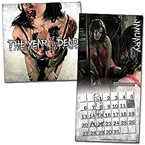 (12x12) Year of the Dead Zombie Lingerie - 2013 Calendar