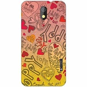 HTC Desire 326G dual sim Back Cover - Silicon Pattern Art Designer Cases