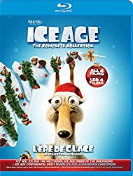 Ice Age Complete Collection (Ice Age / Ice Age 2 The Meltdown / Ice Age 3 / Ice Age 4 Continental Drift / Ice Age A Mammoth Christmas)  (Bilingual) [Blu-ray]