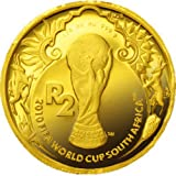 2010 FIFAワールドカップ 公式記念コイン[南アフリカ] 2ランド金貨 最終【A】(CSCG00028)