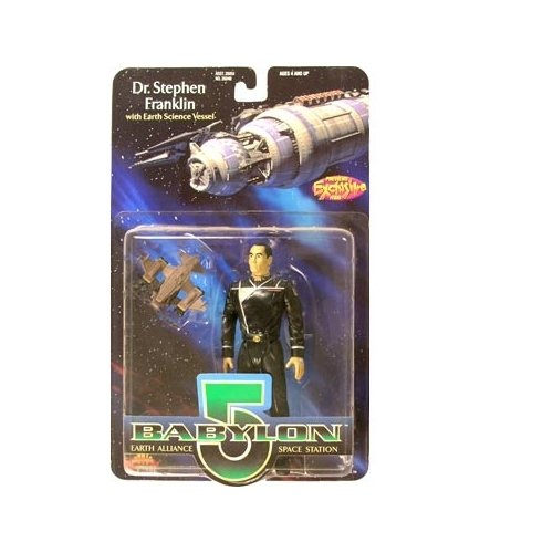 Babylon 5 Dr. Stephen Franklin Action Figure - 1