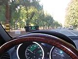 Universal GPS HUD Head Up Speed Display KMH / MPH Speeding Warning Plug & Play thumbnail