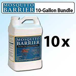 mosquito barrier liquid mosquito repellent 10 gallon pack for grassy areas yards. Black Bedroom Furniture Sets. Home Design Ideas