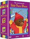 echange, troc Coffret petit ours brun : Petit ours brun fait des farces / Petit ours brun fait du roller / Le Noël de petit ours brun