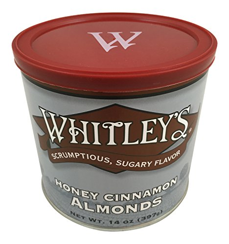 Whitleys Honey Cinnamon Almonds 14 Oz. (Chili Honey Almonds compare prices)