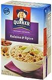 Quaker Instant Oatmeal Raisins & Spice 10 pk
