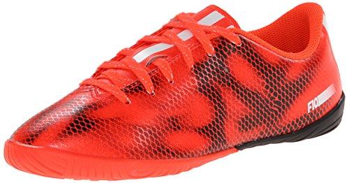 adidas Performance F10 Indoor Soccer Shoe , Solar Red/Runnin