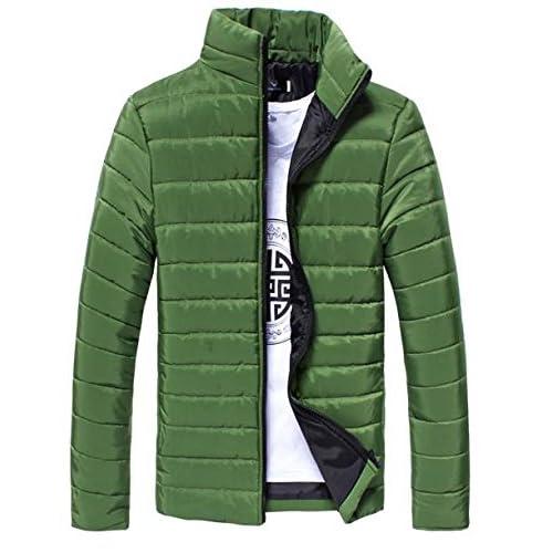 (ライフィーズ) Lifees ダウンジャケット カジュアル シンプル スリム 冬物 防寒 北欧 サイズ M-3XL 9色 5サイズ グリーン XL