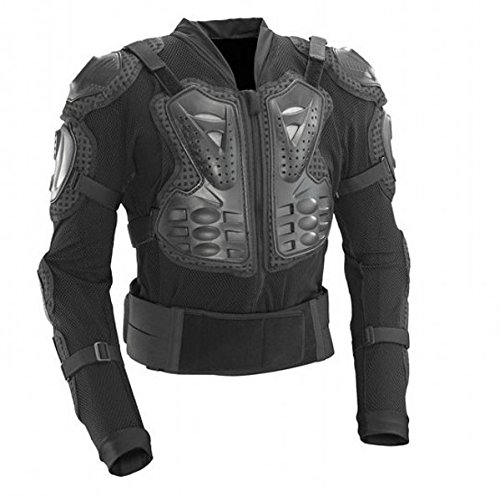 xxxl-size-men-motorcycle-armor-jacket-body-guard-bike-motocross-gear-black