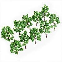Model Tree Train Set Scenery Landscape HO N - 10PCS by SuntekStore Online