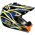 Troy Lee Designs Beast SE 3 Off-Road/Dirt Bike Motorcycle Helmet - Blue/Yellow / Small