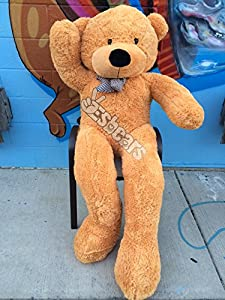 Yesbears 6ft 2 Inches Giant Teddy Bear (Tan Color) by Yesbears