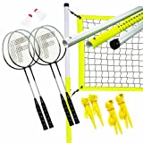 Franklin Sports Advanced 4 Player Badminton Set-