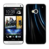 X ray Colorful Printed Hard Protective Back Case Cover Shell Skin for HTC One M7 Lines Black Velvet Fabric Fashion