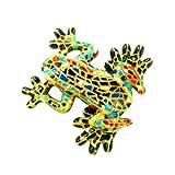 Barcino Mosaic Frog Magnet