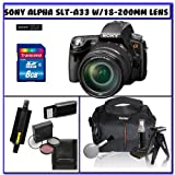 Sony SLT-A33 Alpha DSLR SLTA33 14.2MP Digital