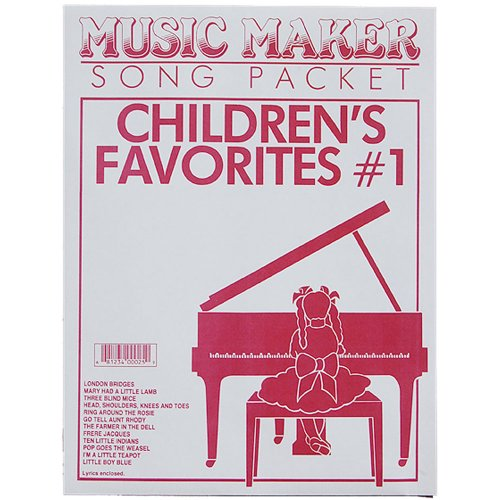Children's Favorites #1 music for the Music Maker (with full muisc listing) by European Expressions