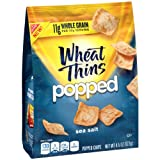 Wheat Thins Popped Chips, Sea Salt, 4.5 Ounce Bag (Pack of 9)