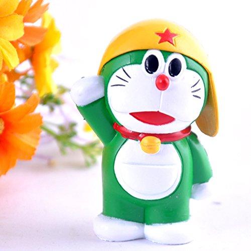 Anime Cartoon Doraemon Cosplay Sonic Mario Pvc Action Figure Collectible Model Kids Toys Doll 6Cm 6Pcs/Lot