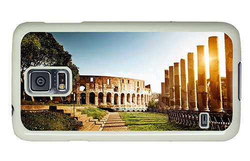 Hipster Samsung Galaxy S5 Case Free Shipping Colosseum Amphitheater Pc White For Samsung S5