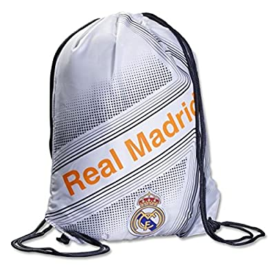 Real Madrid Official SOCCER One Size Cinch Backpack