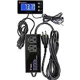 Kegco KC TC-321 Digital Thermostat Control Unit, Black