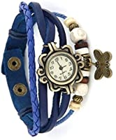 KOKO Vintage Butterfly Analog Beige Women's watch (butterfly10)