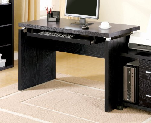 Buy Low Price Comfortable Dark Clean Lines Computer Desk by Coaster Furniture (B004LZ9XAI)