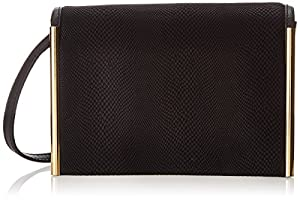 Ivanka Trump Crystal Cross Body,Black,One Size