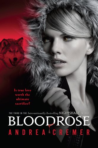 Andrea Cremer adds Book 3 'Bloodrose' to Nightshade Trilogy