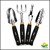 iGarden Garden Tool Sets 4 Piece Set,