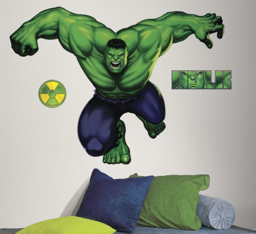 Hulk Peel & Stick Giant Wall Decals front-1029382